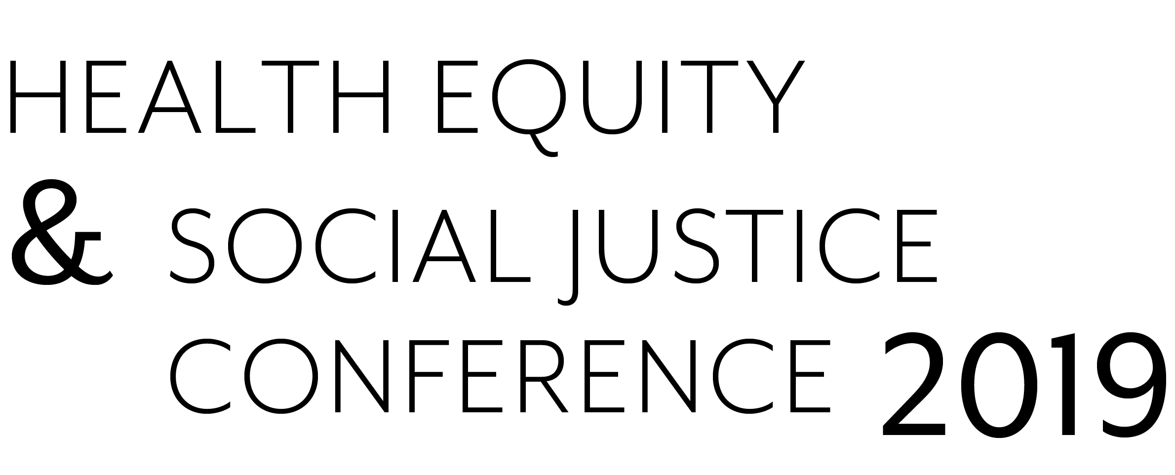 12th annual Health Equity & Social Justice (HESJ) Conference logo