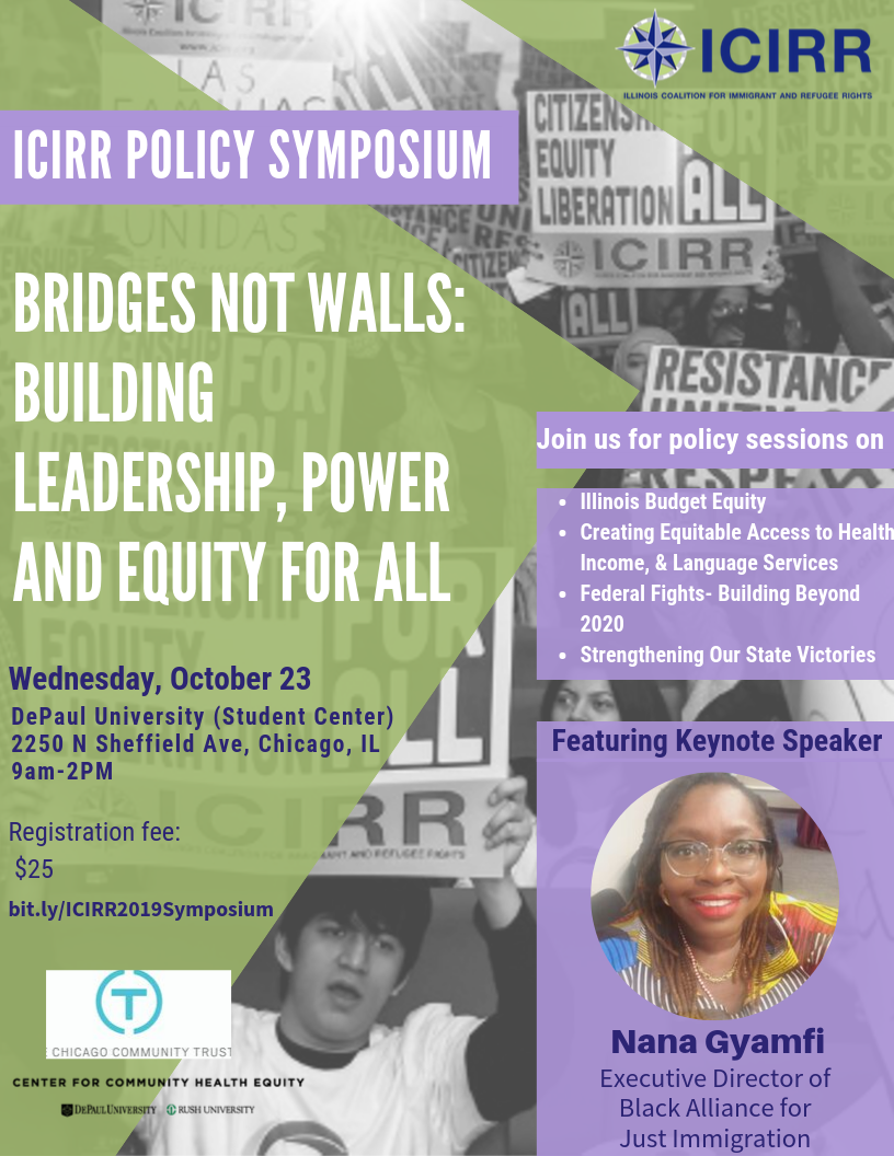 Bridges Not Walls: Building Leadership, Power and Equity For All