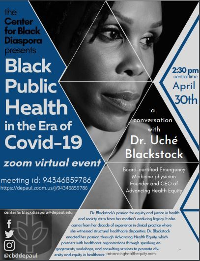 Black Public Health in the Era of Covid-19: A Conversation with Dr. Uché Blackstock