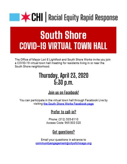 South Shore COVID-19 Virtual Town Hall
