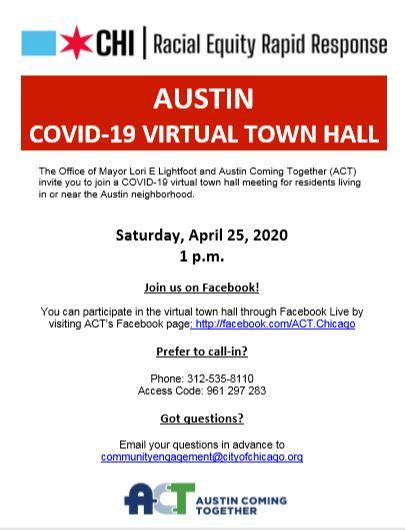 Austin COVID-19 Virtual Town Hall